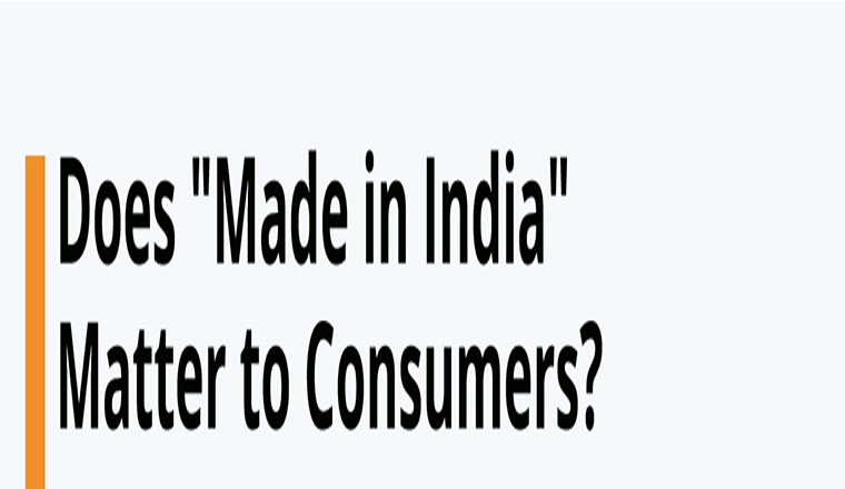 "Does ""Made in India"" Matter to Consumers? #infographic"