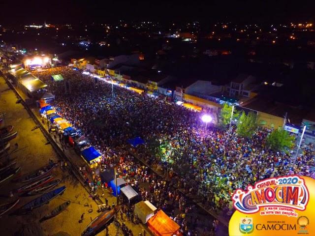 Fotos e vídeo| Mais de cem mil pessoas no show de DJ Alok em Camocim/CE