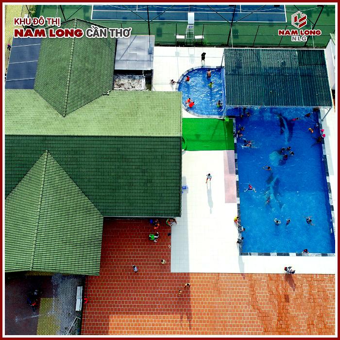 Tiện ích hồ bơi khu đô thị Nam Long Cần Thơ