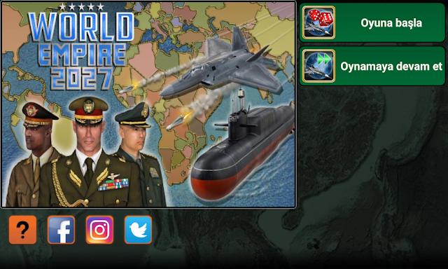 Dünya İmparatorluğu 2027 Hileli APK