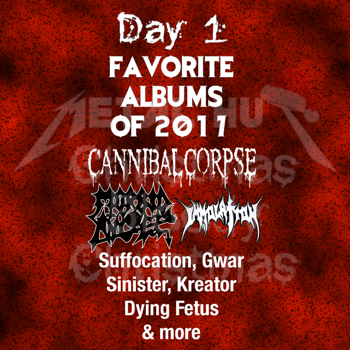 merry christmas you filthy animals you know me im much of a death metal person even so this list will not be only that also id like to say that - Death Metal Christmas Songs