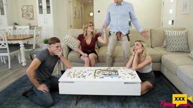 [18+] Family Swap XXX – Chloe Temple & Cory Chase (2020) FULLHD 300MB