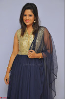 Shilpa Chakravarthy anchor and actress in anarkali dress  Exclusive 024.JPG