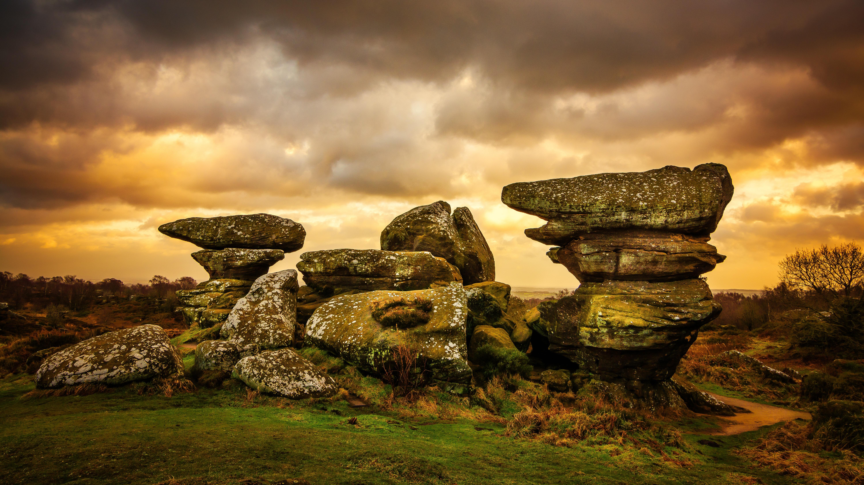 UK Road Trips: Brimham Rocks Harrogate