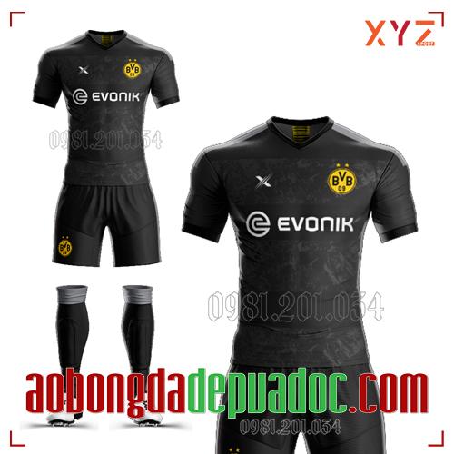 Áo Dortmund 2020 Sân Khách Màu Đen Đẹp Và Độc