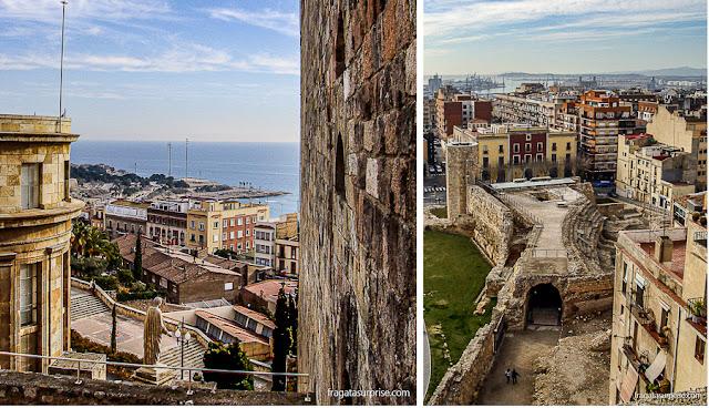 Muralhas romanas de Tarragona, Catalunha
