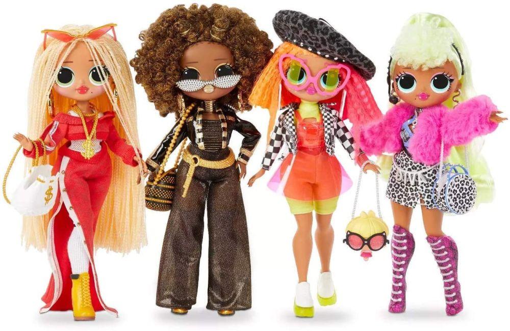 Перевыпуск куклы Лол Сюрприз ОМГ серия 1 L.O.L. Surprise O.M.G. 4 Pack Series 1