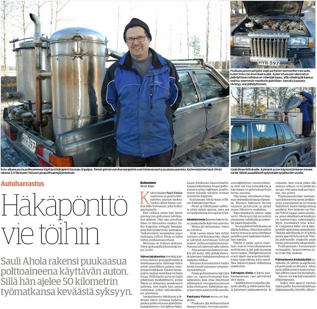 Pekka Korpivaara Häkäpönttöauto