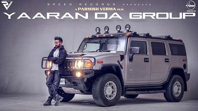 Yaaran Da Group Lyrics – Dilpreet Dhillon | Punjabi Song