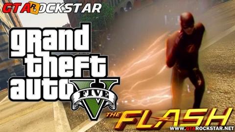 The Flash Mod V3.0 para GTA V