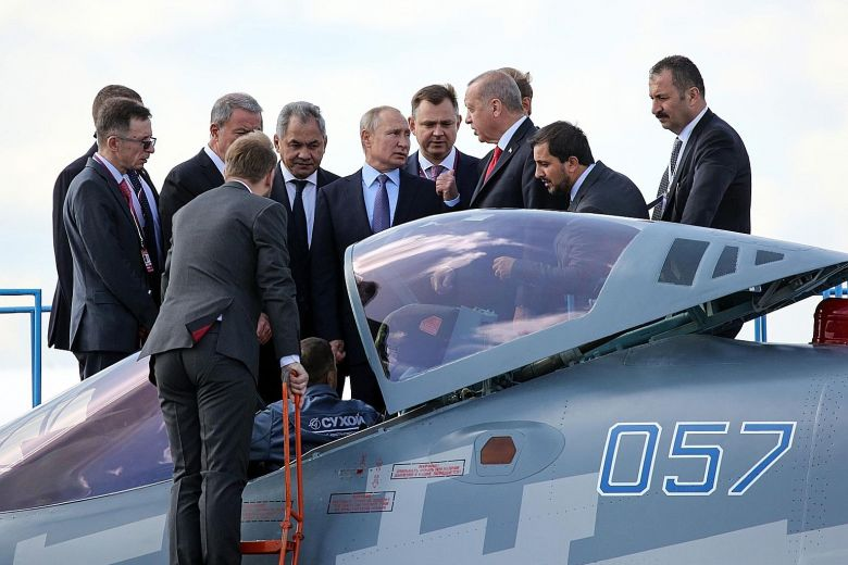 Instead of the US: Turkey may buy Russian fighter jets