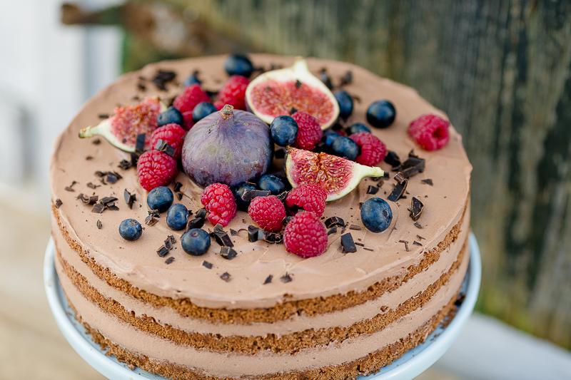 Geburtstag mit  Apfelkuchen vom Blech und Schoko-Karamell-Torte, Pomponetti, Rezept für Schoko- Karamell-Torte
