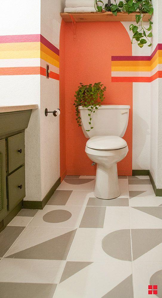 pintura orgânica banheiro