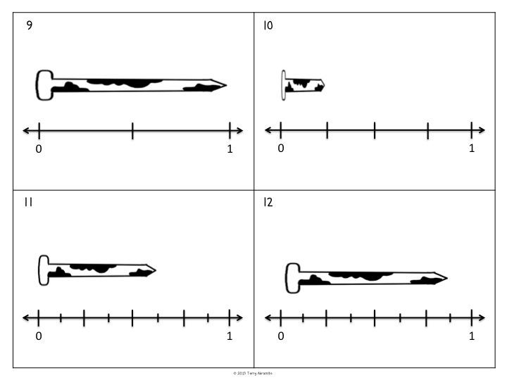 Terry's Teaching Tidbits: Plotting Fractions