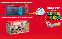 """Concorso """"Vinci Nintendo Con Danone 2021"""" : ogni mese 1 Nintendo Switch con Gioco Mario Kart Live Home Circuit"""