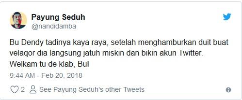 enomena pelakor alias perebut laki orang semakin marak terjadi di Indonesia.