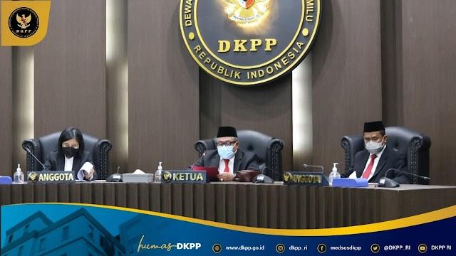 Terbukti Tidak Netral, DKPP Berhentikan Tetap Anggota KPU Kabupaten Banjar