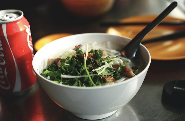 Vietnamese Rice Noodles Dish