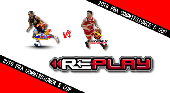 Video Playlist: Rain or Shine vs Phoenix game replay June 16, 2018 PBA Commissioner's Cup