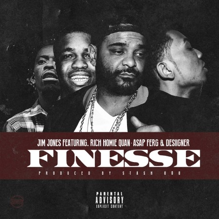 Jim Jones ft. Rich Homie Quan, A$AP Ferg & Desiigner – Finesse