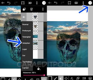 Tutorial Picsart Editing | Manipulasi Skull Island