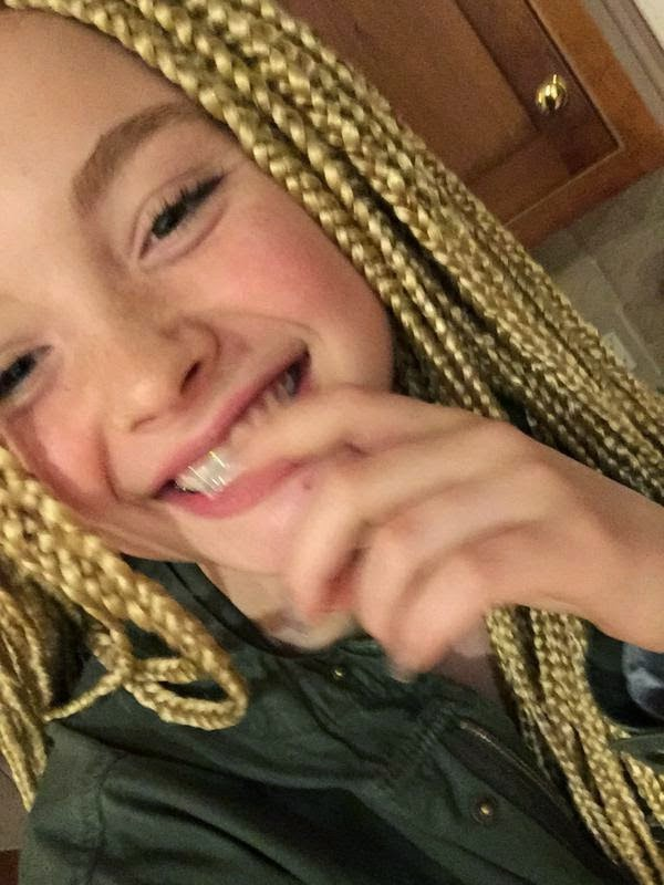 14-Year-Old White Girl Defends Her Box Braids Against