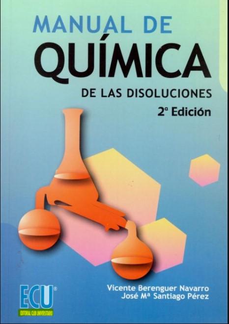 Manual de Química de las Disoluciones 2 Edición en pdf
