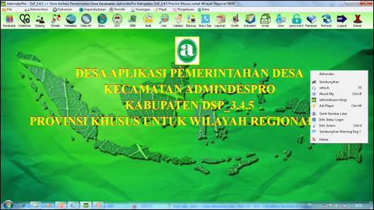 Aplikasi AdmindesPro 345