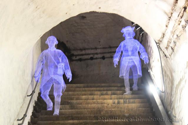 Citadel of Namur Underground Passages Tour
