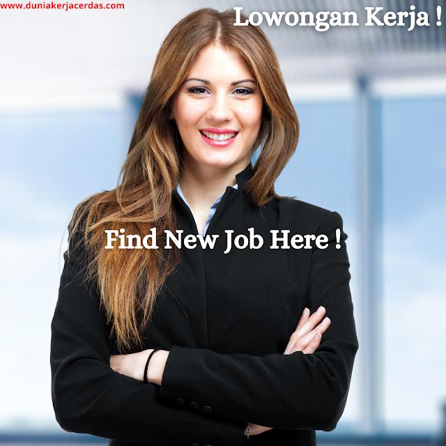 Job Vacancy PT. Tapian Mas Abadi