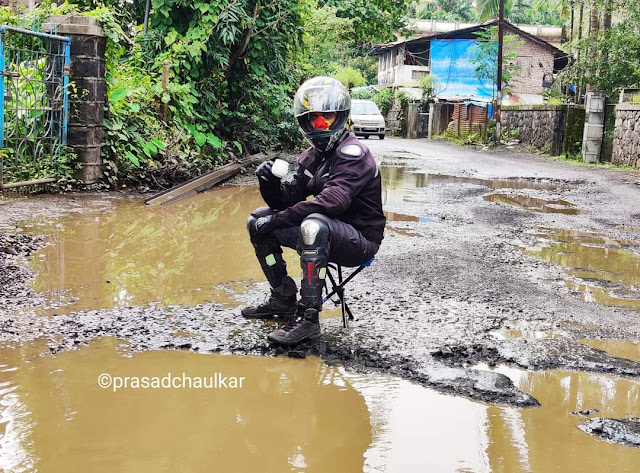 "Now We Should Learn To Live with Potholes and  Bring A New Concept ""Pit Tourism"""