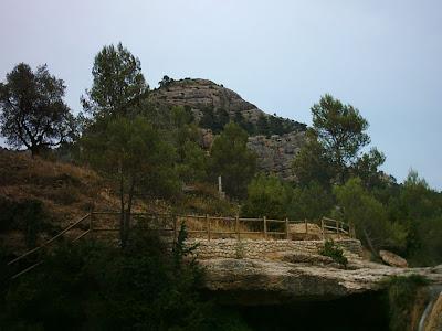 Algars, Algás, toll del vidre, Arnes, Tarragona, Lo Port,