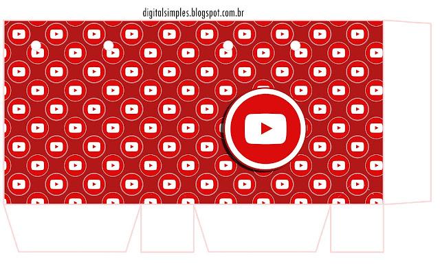 Redes Sociales: Cajas para Imprimir Gratis.