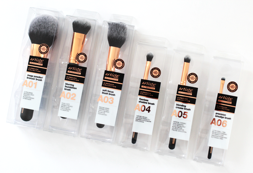Artiste Professional Airbrush Collection Makeup Brushes Priceline