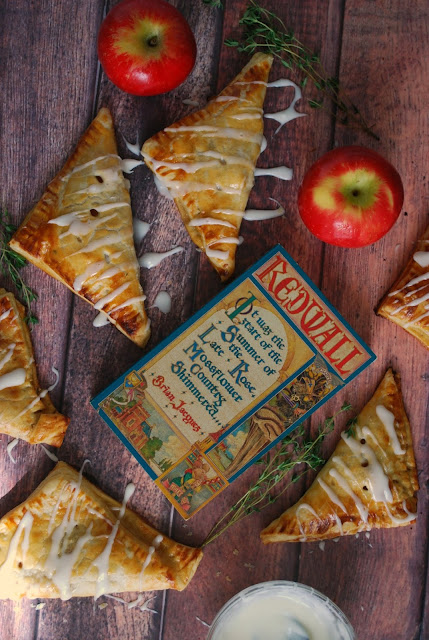 Apple Turnovers with Honey and Thyme Recipe inspired by Redwall Books