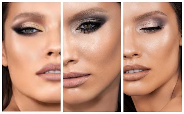 Sección de looks para Navidad: Maquillajes GLAM versión low cost 02