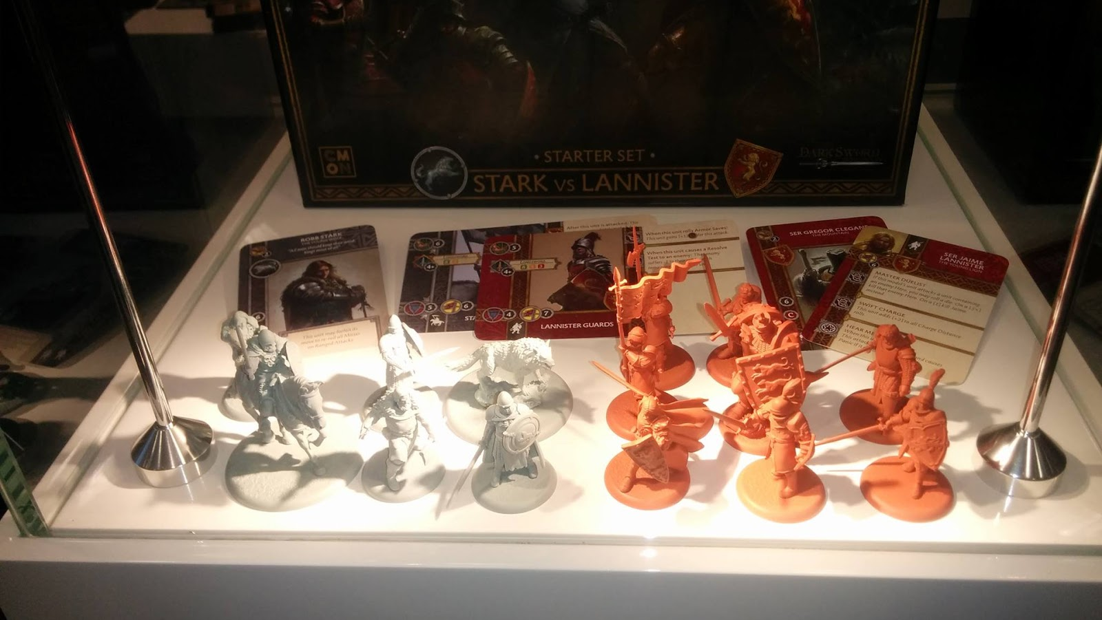 A song of fire and ice miniatures game