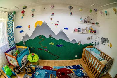Wie gestalte ich das Babyzimmer für einen Jungen