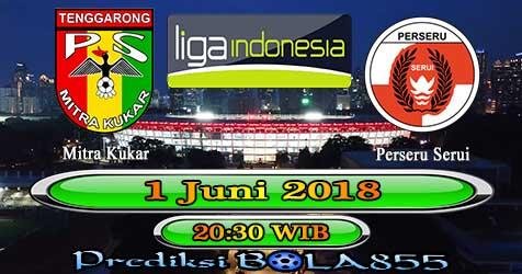 Prediksi Bola855 Mitra Kukar vs Perseru Serui 1 Juni 2018
