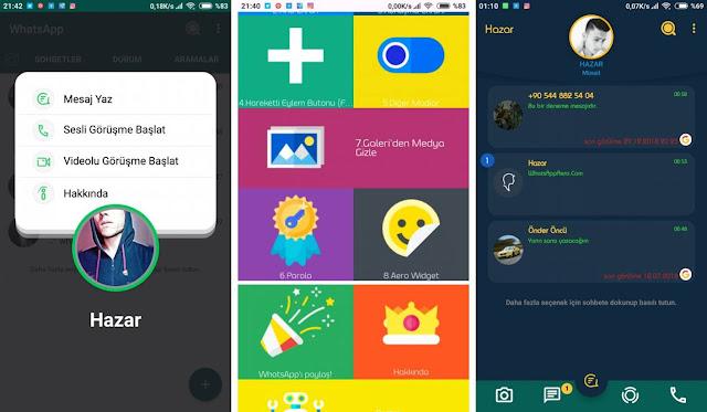 جرب WhatsApp Aero ، التطبيق الذي يجعلك تغير شكل الواتساب 180 درجة