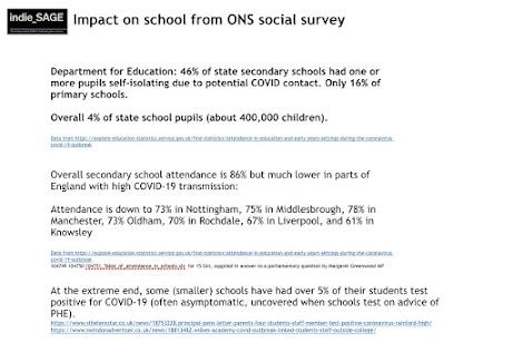 231020 Indie SAGE impact on schools