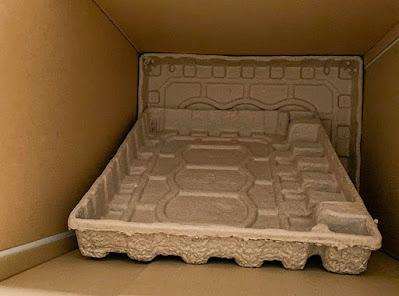 compressed cardboard packaging