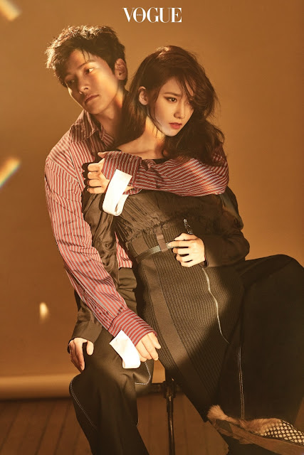 YoonA & Ji Chang Wook Vogue Pics 2