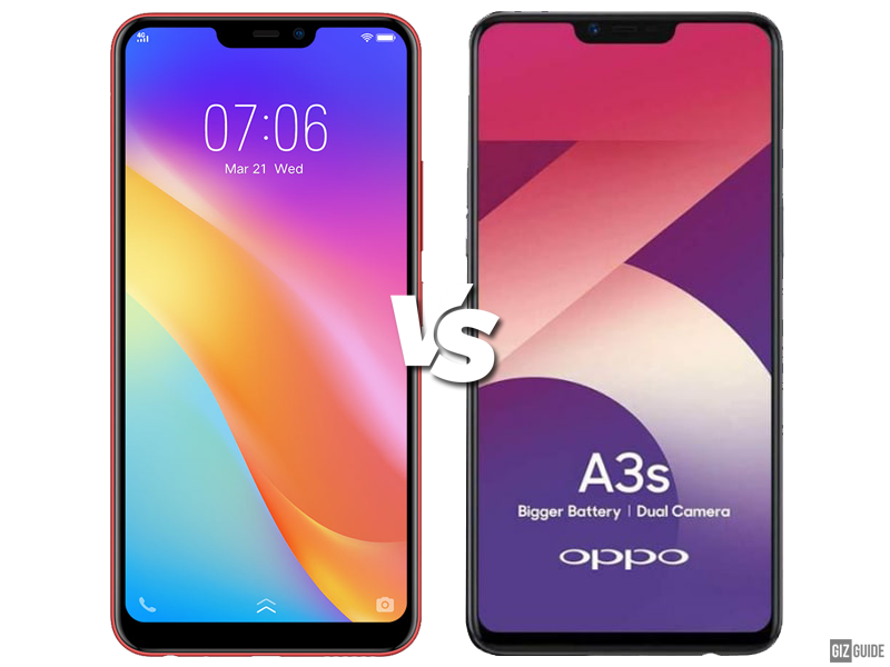Vivo Y81i vs OPPO A3s Specs Comparison