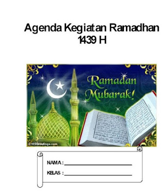 Download Buku Kegiatan Ramadhan Siswa PDF