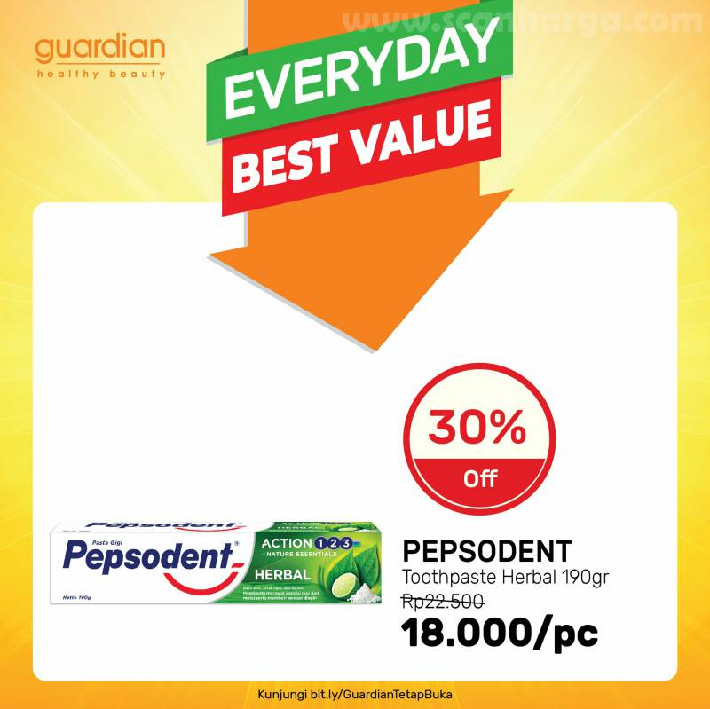 Guardian Promo Everyday Best Value*