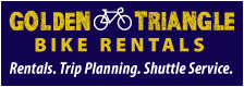 Pittsburgh to Washington DC bike trips and bicycle rentals