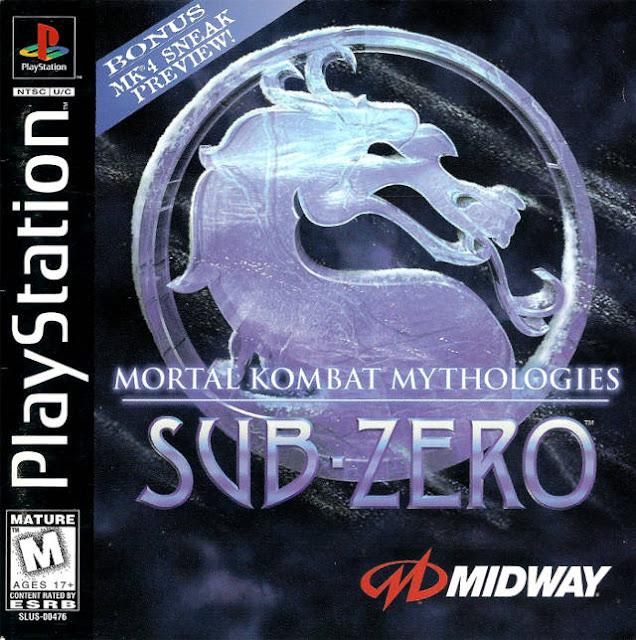 Mortal Kombat Mythologies: Sub-Zero - PSX - Portada