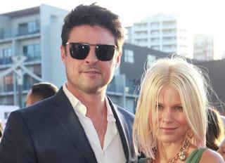 Natalie Wihongi with her ex-spouse Karl Urban
