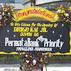 Bunga Papan Congratulation Permata Bank
